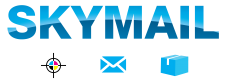 Skymail International | Printing, Shipping, and Direct Mail Logo