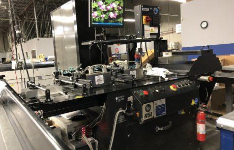 Full image of Skymail's inkjet machine