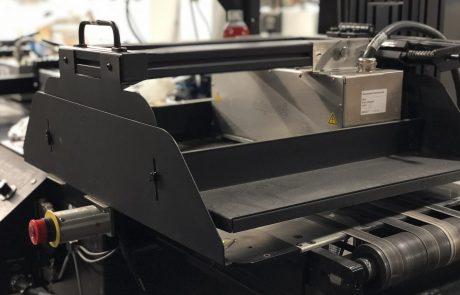 Image of Skymail's inkjet machine