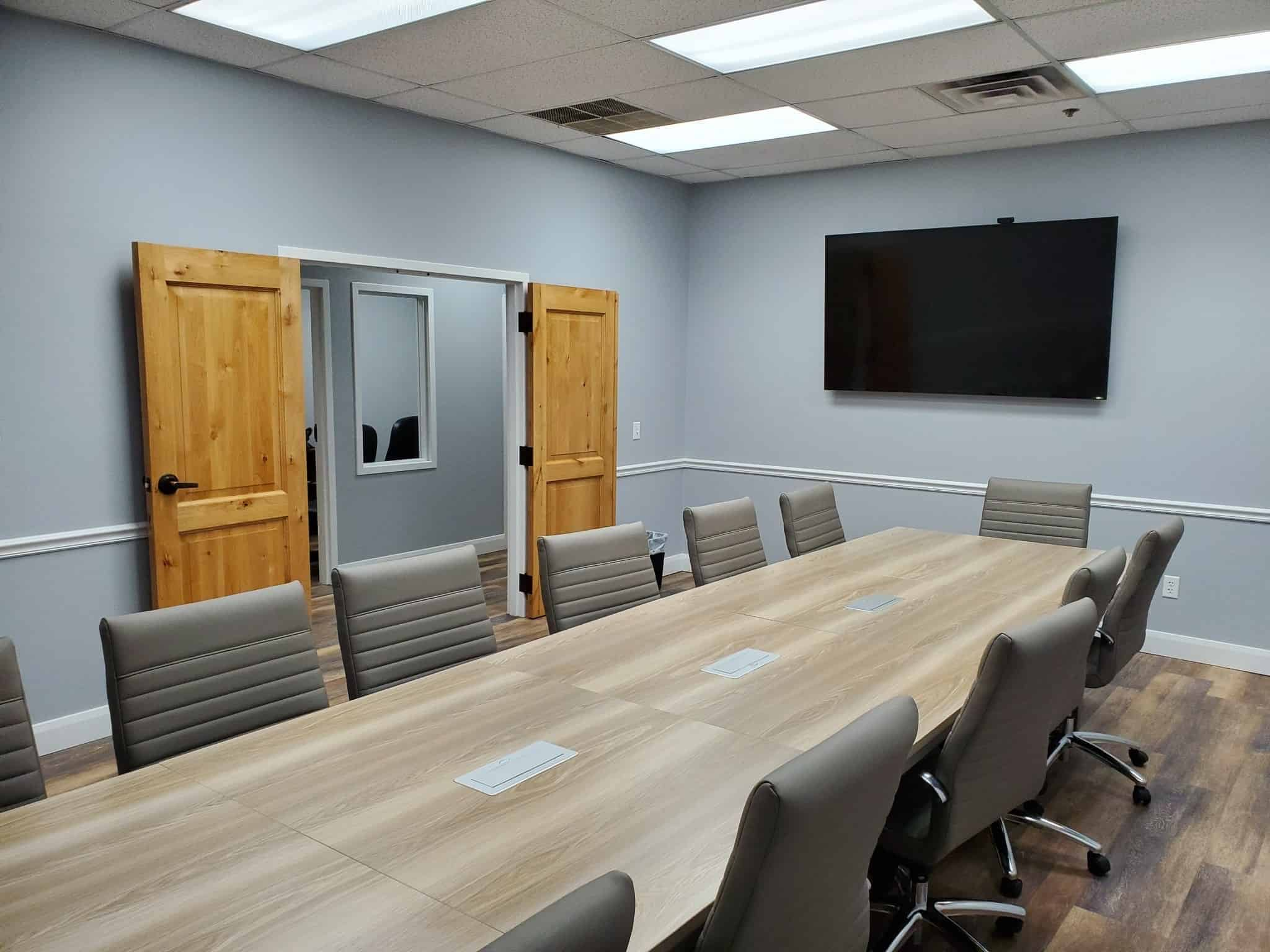 Image of Skymail's new conference room.